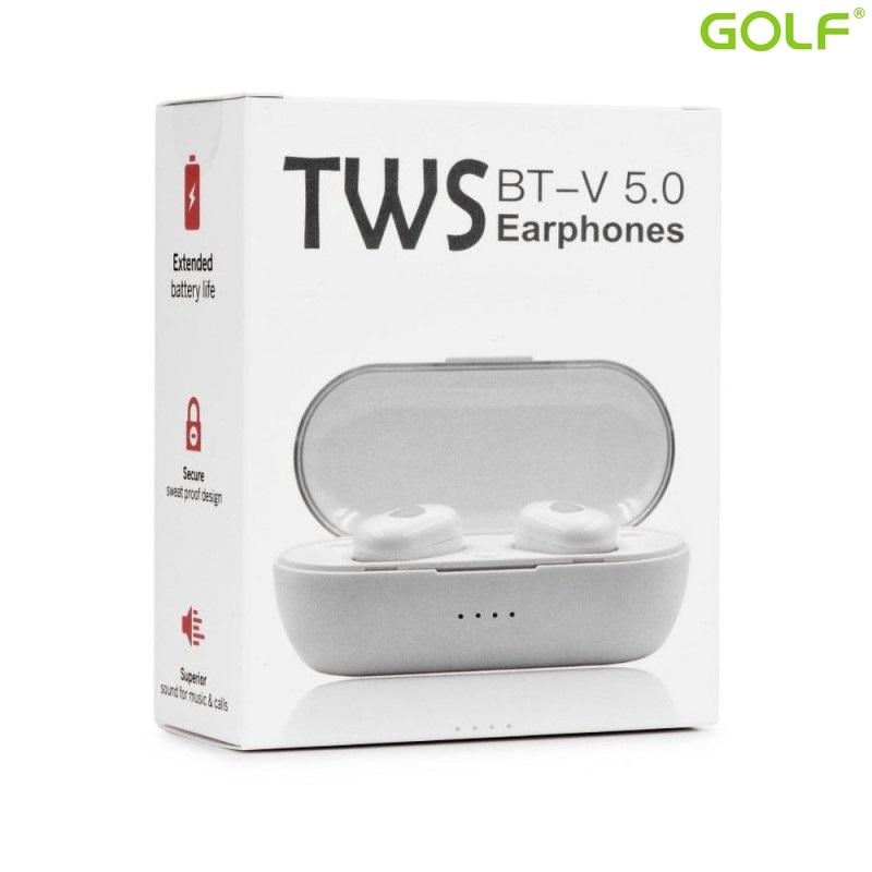 Безжични слушалки HandsFree TWS EP011 V5.0 W