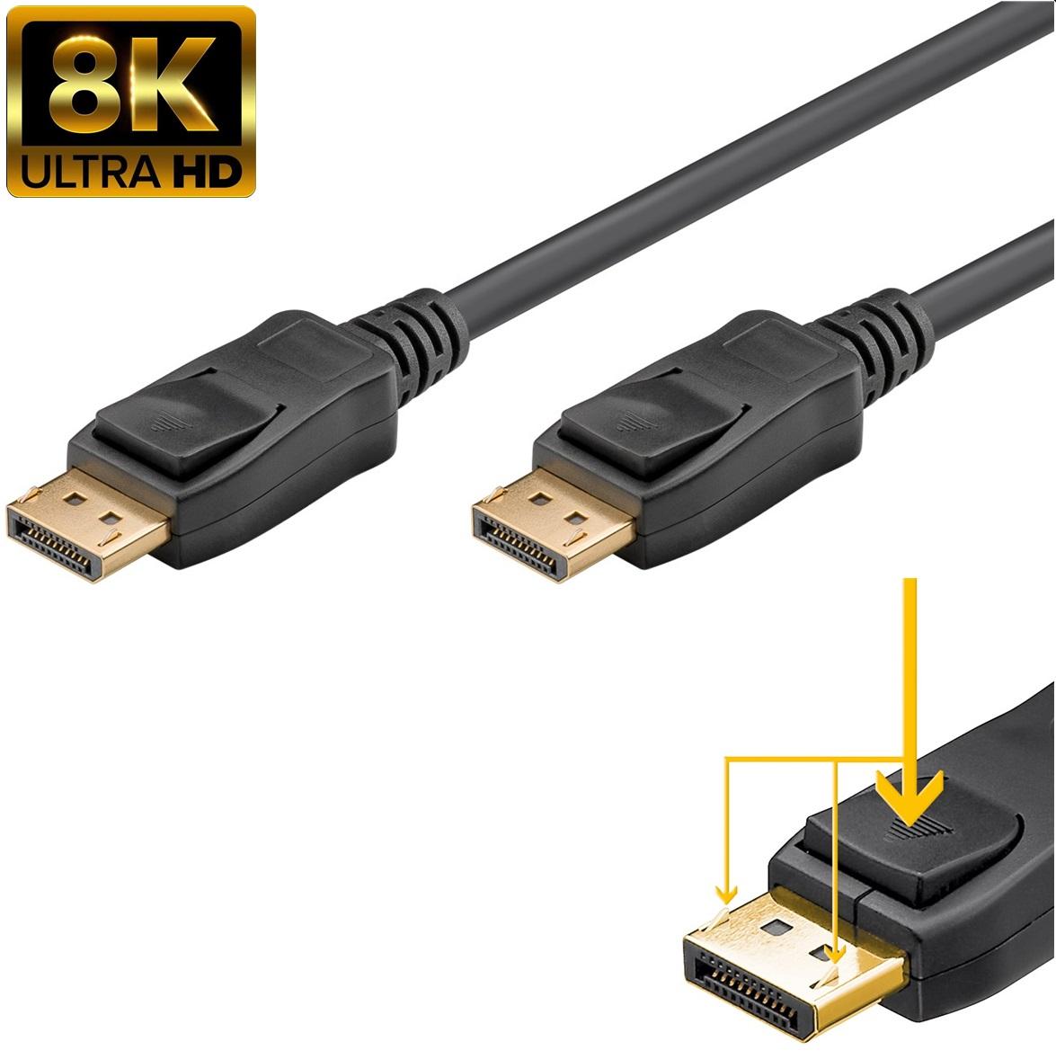 DisplayPort DP M/M v1.4  5.0m GOOBAY(49973)