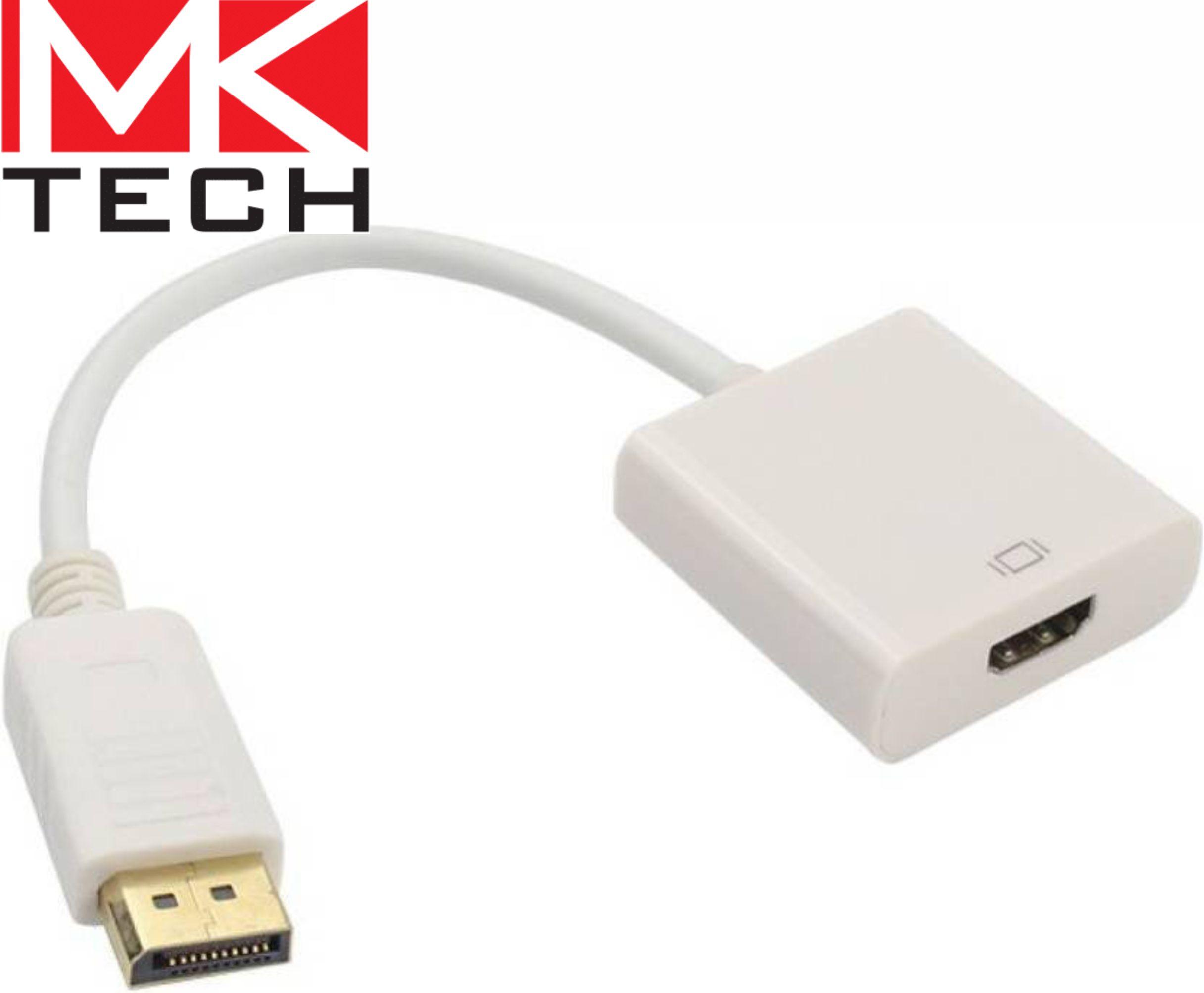 DisplayPort male to HDMI female, 0.1 m MKTECH