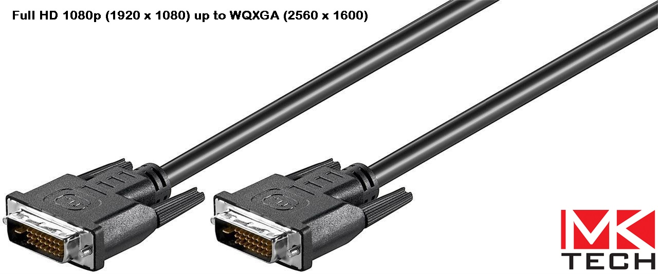 DVI 24+1 M to DVI 24+1 M (1.8m) MKTECH