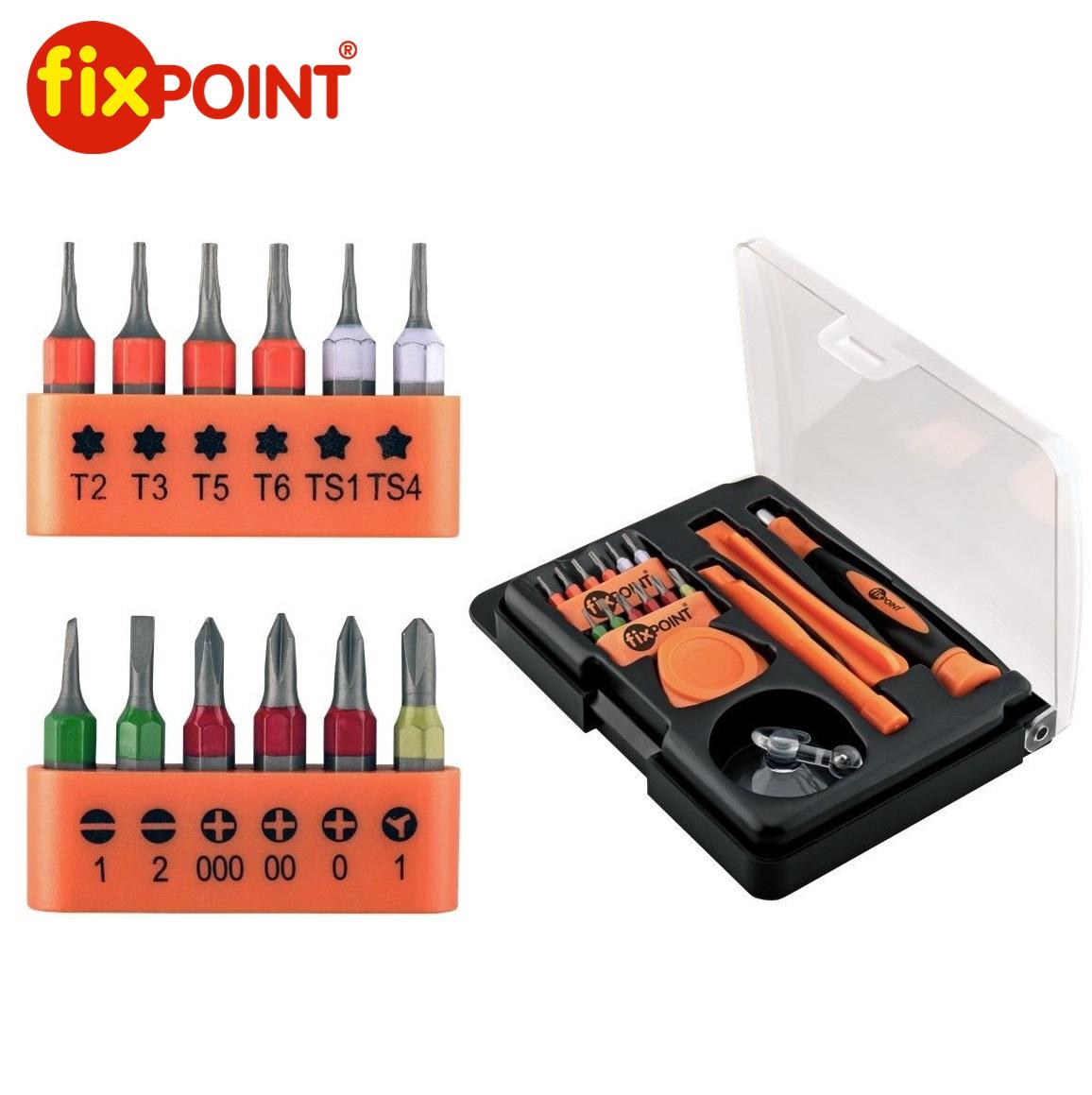 Инструменти за смартфони 17бр. FIXPOINT 44690
