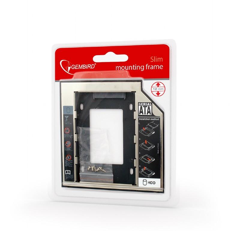 Kутия за Втори Хард за Лаптоп/HDD Caddy 12.7mm