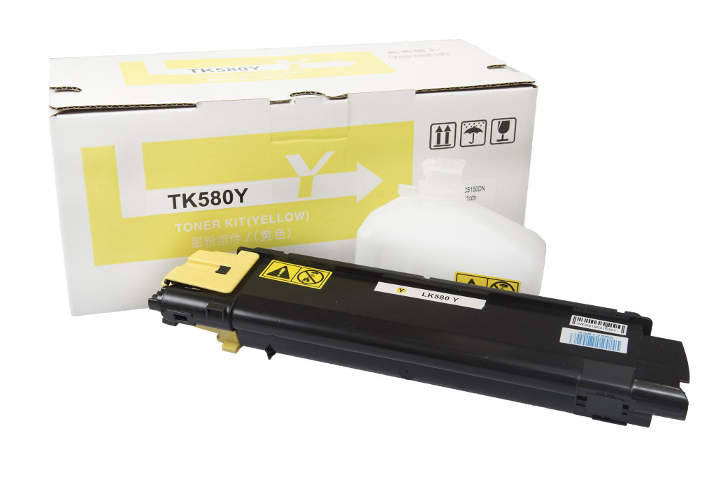 Kyocera TK580 Yellow (2.8K) Съвместима Касета