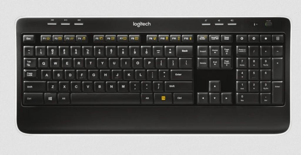 Logitech  K520 820-002870 без ресийвър за части