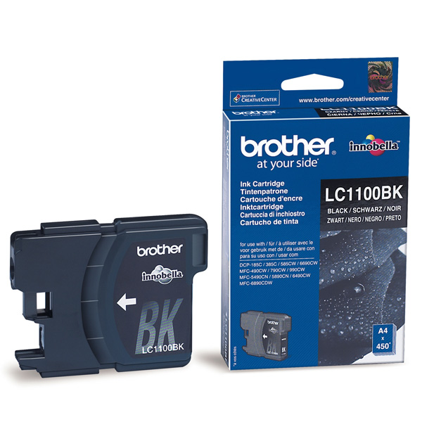Мастилница Brother LC-1100 BK ORIGINAL