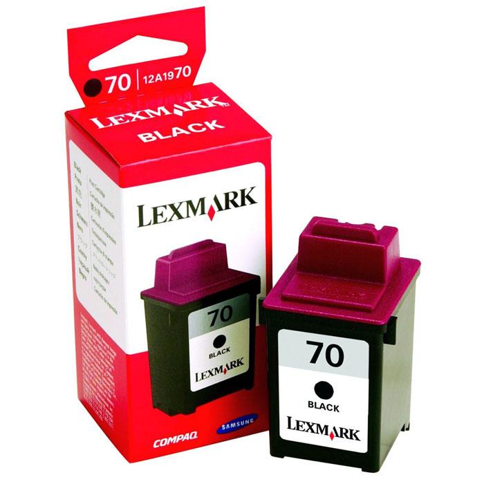 Мастилница Lexmark 70 Black(12A1970) ORIGINAL
