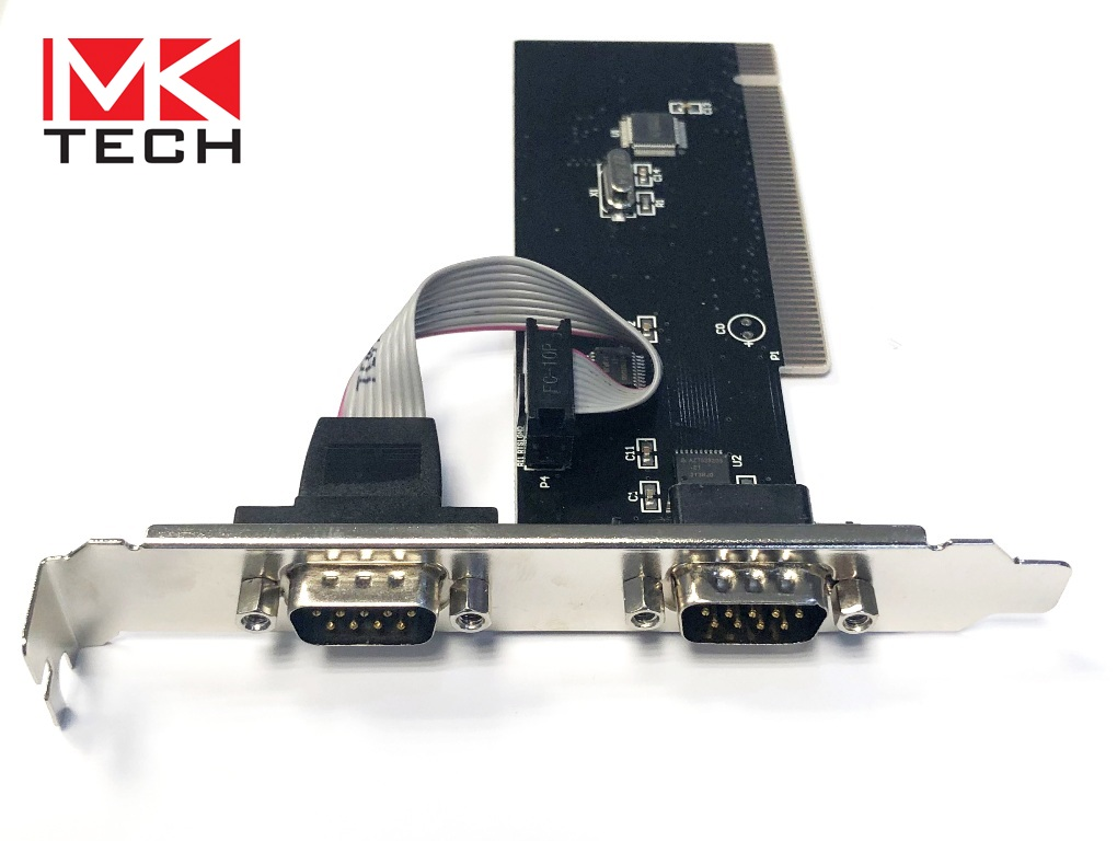 PCI to Serial 2 ports High Profile MKTECH