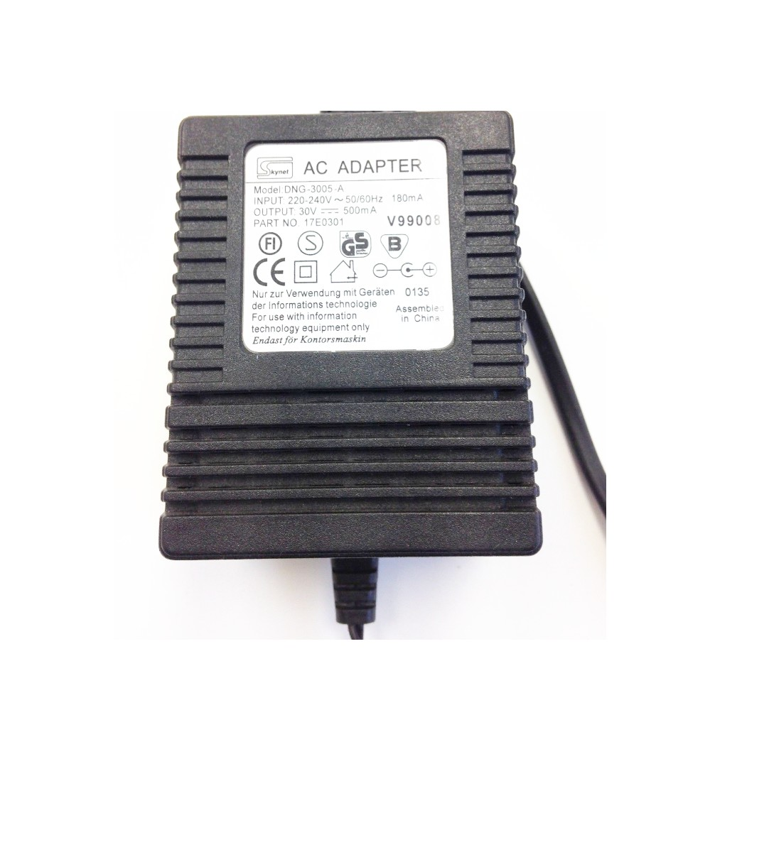 Power Adapter DNG-3005-A(30V/0.5A)