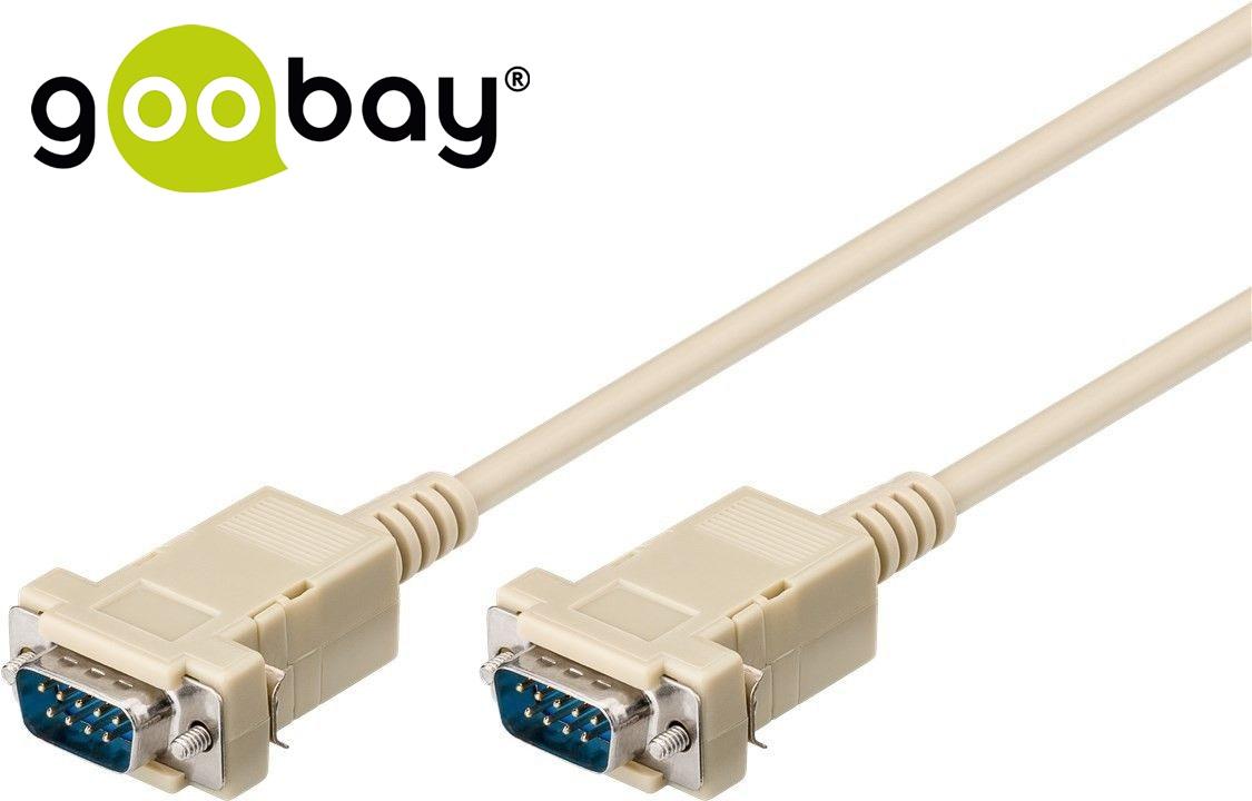 RS-232 M 9-pin to RS-232 M 9-pin 1:1 2.0m GOOBAY
