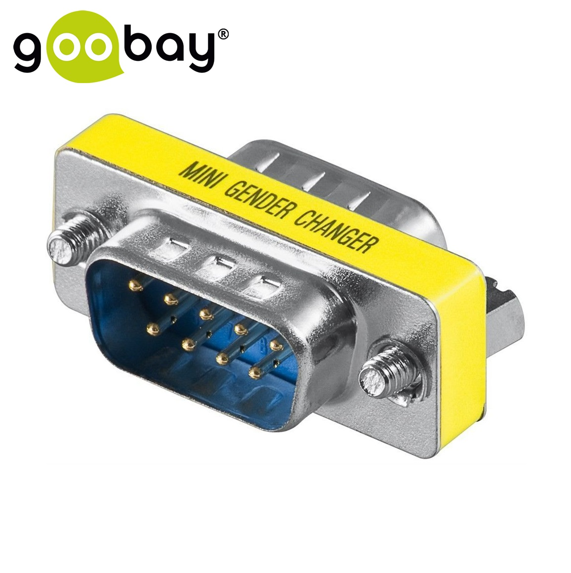 RS-232 male 9-pin to RS-232 male 9-pin GOOBAY