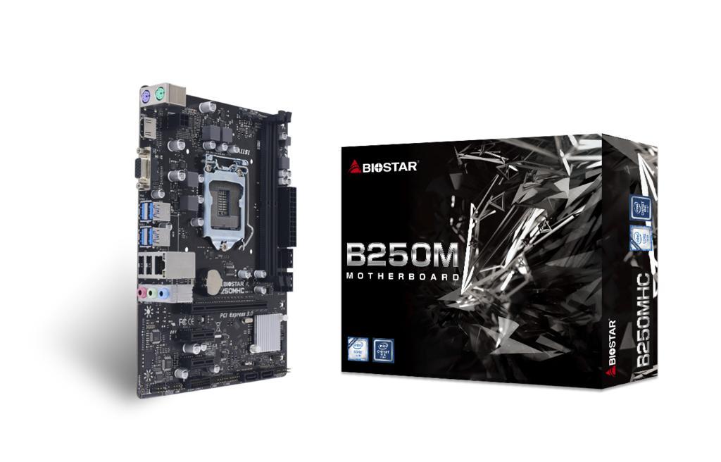 Socket 1151 BIOSTAR B250MHC, Intel B250