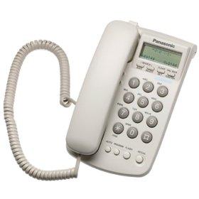 Стационарен Телефон Panasonic KX-TSC7W, Бял
