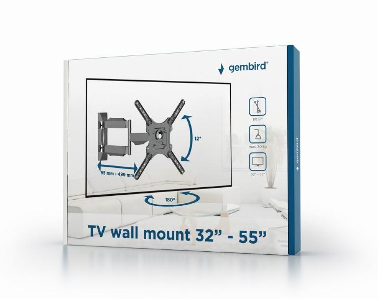TV стойка Gembird WM-55RT-05 32-55 rotate & tilt