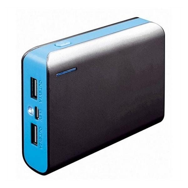 Външна батерия Platinet PMPB6BL, 6000mAh, Син