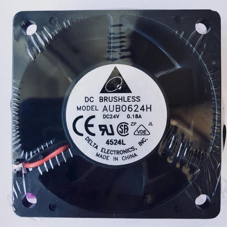 Вентилатор  60x60x25mm DELTA AUBO624H