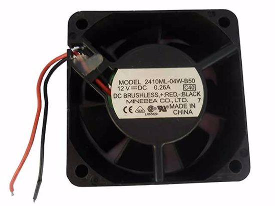 Вентилатор  60x60x25mm NMB 2410ML-04W-B50