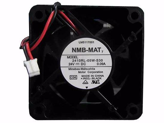 Вентилатор  60x60x25mm NMB-MAT 2410RL-05W-S30