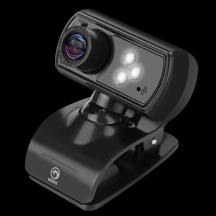 Web Camera 1080p(Вграден микрофон) Marvo MPC01